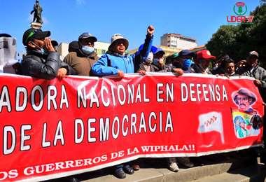 Pidieron cambios a la CPE para armar milicias (Foto: Armin Copa)