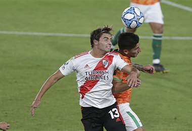 River Plate no pudo este martes ante Banfield. Foto: AFP