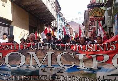 Tarija y Potosí organizan acciones en defensa de la democracia. Foto: Archivo