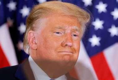 Trump se declaró ganador de las elecciones pocas horas después del cierre de la votación