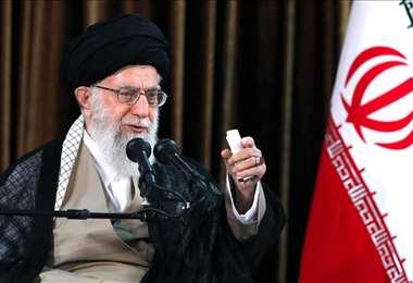 El líder supremo iraní. Foto Internet