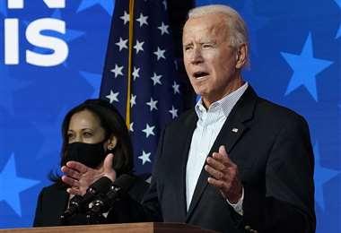 Joe Biden encabeza el conteo. Foto AFP
