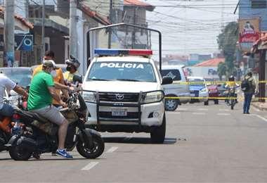 Cívicos piden que haya respeto en las calles. Foto: APG Noticias