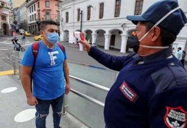 Ecuador refuerza de nuevo los controles. Foto Internet