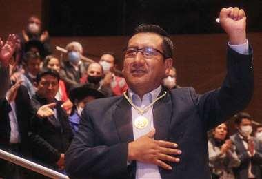 El nuevo presidente de Diputados I redes.