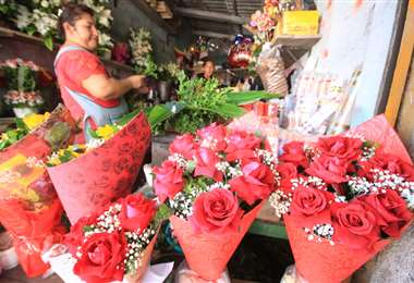 Ecuador es el principal proveedor de flores de Bolivia. Foto: Juan Carlos Torrejon