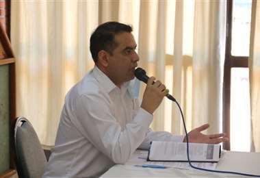 Francisco Vargas, vocal del TSE. Foto: Juan Carlos Torrejón