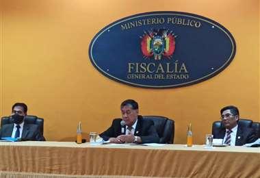 Fiscal general del Estado, Juan Lanchipa | Foto: William Zola