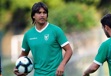 Marcelo Martins llegará el domingo a La Paz