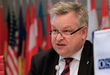Michael Georg Link., de la OSCE. Foto Internet