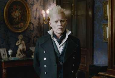 Depp interpretaba al villano Gellert Grindelwald, que se enfrenta con Albus Dumbledore