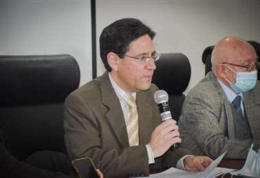 El presidente del TSE, Salvador Romero   Foto: ABI