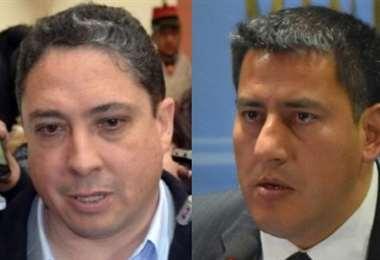 Los exministros de Evo Morales I archivo.