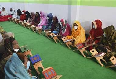 La escuela coránica para los transgénero. Foto AFP