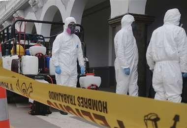 Continúa la alerta en Bolivia, por el coronavirus. Foto: APG
