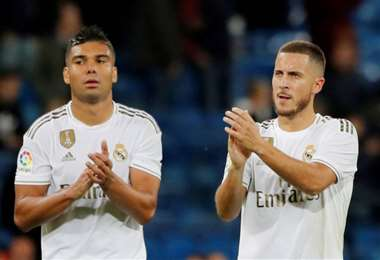 Casemiro y Eden Hazard se perderán así el encuentro de La Liga contra el Valencia