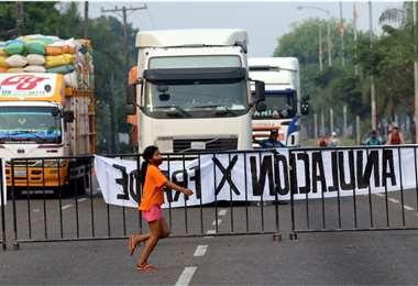 Imágenes del paro (Foto: Jorge Gutiñerrez/Ricardo Montero)