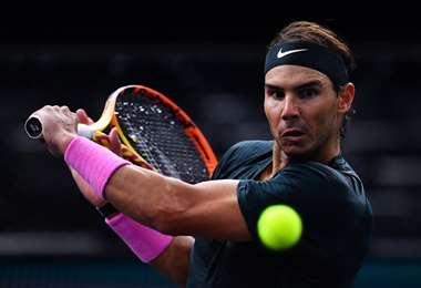 Rafael Nadal, tenista español y número dos del mundo en el ranking ATP. Foto: AFP