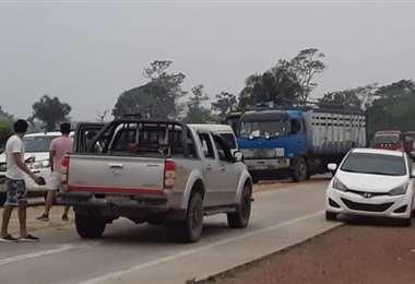 En Concepción se normalizó el tránsito. Foto: Jorge Huanca