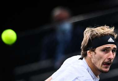 Alexander Zverev le ganó este sábado a Rafael Nadal. Foto: AFP
