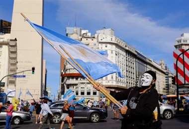 Los argentinos protagonizaron una gran marcha en Buenos Aires