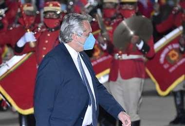 Fernández, luego del acto de posesión, irá a reunirse con Evo a La Quiaca /Foto: APG