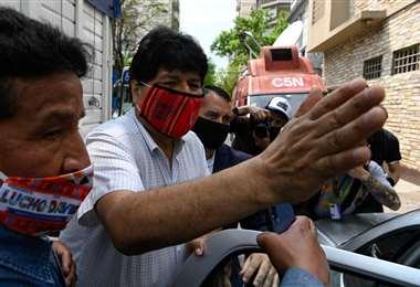 El expresidente Evo Morales.
