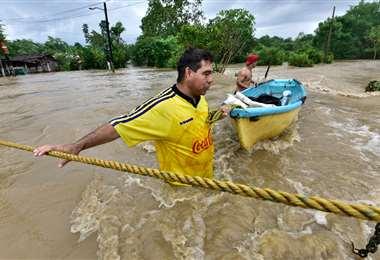 Fuertes lluvias se reportan en la mitad este de Cuba