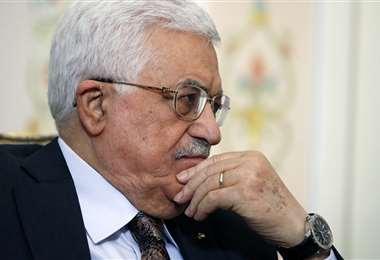 Mahmud Abás es el presidente de Palestina