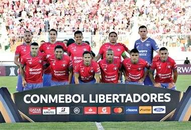 Plantel de Wilstermann que encara la Copa Libertadores. Foto: internet
