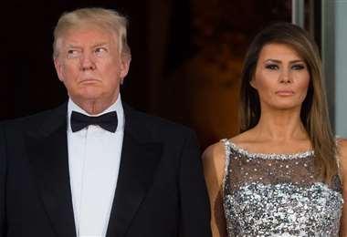 Donald y Melania Trump están casados desde 2005 y son padres de Baron, de 14 años