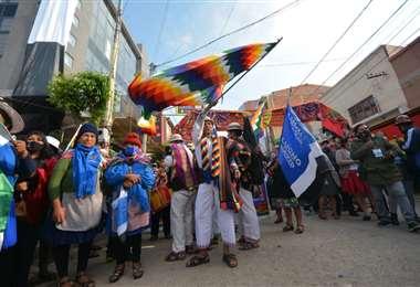 En Villazón aguardan la llegada de Evo/Foto: APG Noticias