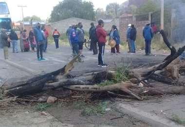 La protesta en Tupiza I redes sociales.