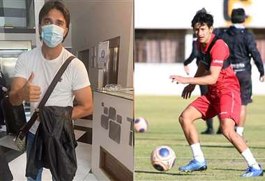 Martins llegó el domingo y Ábrego trabaja desde el primer día. Foto: FBF
