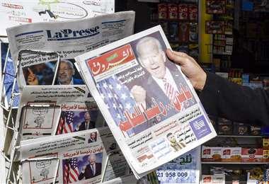 En Túnez, la libertad de expresión es limitada. Foto: AFP