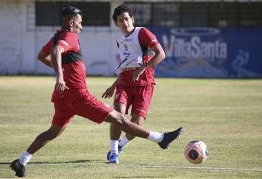 Ábrego es uno de los jugadores que más le ha respondido al DT César Farías. Foto: FBF