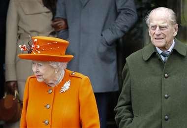 La reina Isabel II y su esposo el príncipe Felipe