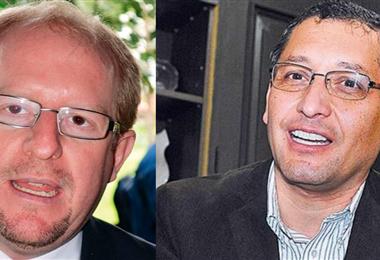 Adrian Oliva y Óscar Montes apuntan a la gobernación de Tarija