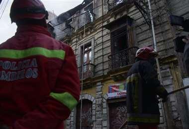 Incendio en una casa de La Paz I APG Noticias.