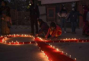 Este martes se recuerda el Día Mundial de Lucha contra el Sida/AFP