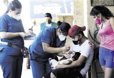 vacunación contra el sarampión/Foto: Ricardo Montero