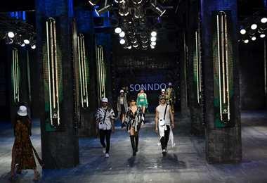 El Bomo virtual se estrena hoy, en una versión diferentes de este evento de modas
