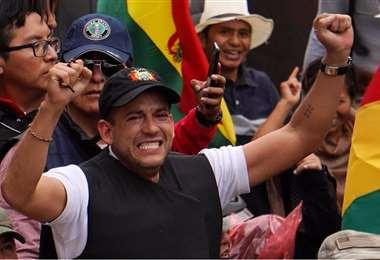Camacho lideró las movilizaciones ciudadana en 2019. Foto referencial