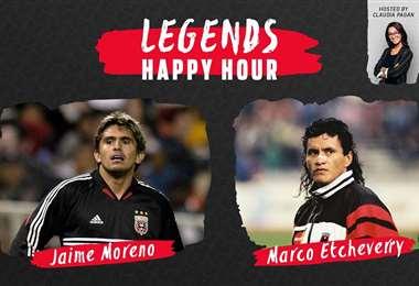 Jaime Moreno y Marco Etcheverry fueron campeones con el DC United. Foto: internet