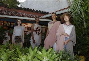 Colección de Juan de La Paz inspirada en los tejidos de los pueblos chiquitanos