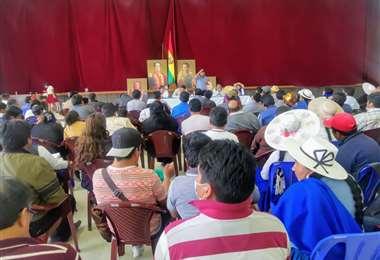 El encuentro en Cochabamba I Twitter.