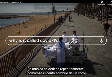 La pandemia del coronavirus fue tendencia este año en el motor de búsqueda