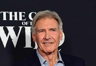 Harrison Ford volverá a ser Indiana Jones por quinta y última vez   Foto: AFP