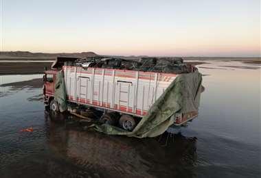 El cargamento antes de ser incinerado/Foto: Aduana