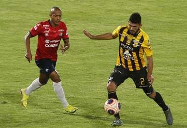 Serginho fue el jugador más importante en el aviador. Foto: APG